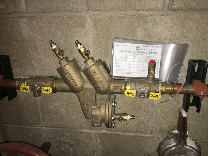 backflow prevention rochester mn